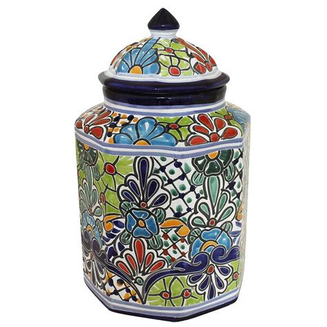 pottery canisters kitchen talavera kitchen canisters collection talavera kitchen