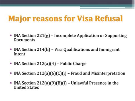 ina section 212 visa refusal or rejected visa consultants revata