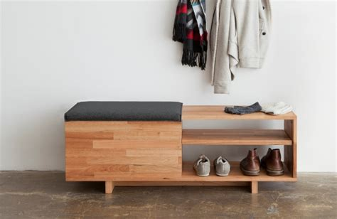 modern shoe storage bench modern entry bench ideas for your fresh entryway decohoms