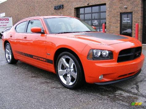 2008 hemi orange pearl dodge charger r t daytona 7013941 gtcarlot car color galleries