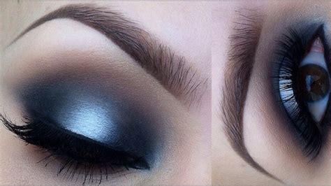 Eyeshadow Tutorial Black And White | matte black and white makeup tutorial youtube