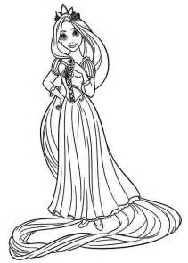 rapunzel coloring pages download print free