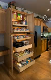 Kitchen Cabinets Pull Out Shelves by Pantry Pull Out Shelves Kitchen Other Metro By