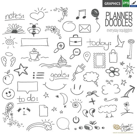 free printable planner icons image gallery planner icons