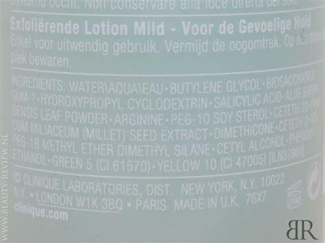 Clinique Mild Clarifying Toner clinique s mild clarifying lotion toner en milde