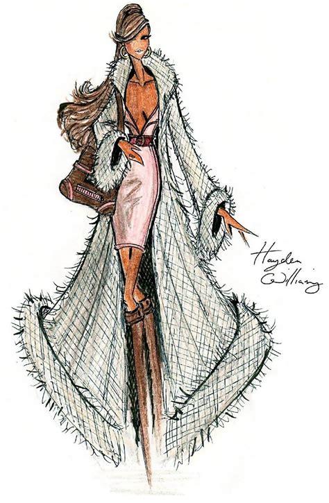 hayden williams fur coat designs i hayden williams fashion illustrations