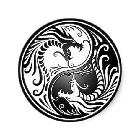 yin yang dragon tattoo designs yin yang dragons yin yangs yin yang