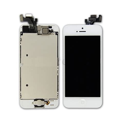 Lcd Touchscreen Iphone 55g iphone 5 lcd assembly with touch screen and other parts digitizer frame home button home