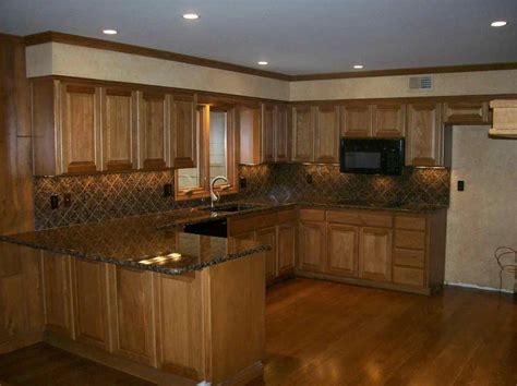 Light Oak Kitchens Light Oak Cabinets With Wood Floors What Color Floor Roselawnlutheran Kitchens Most