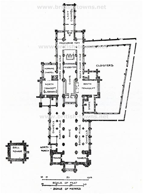 floor plan of cathedral plan of chichester cathedral of chichester cathedral