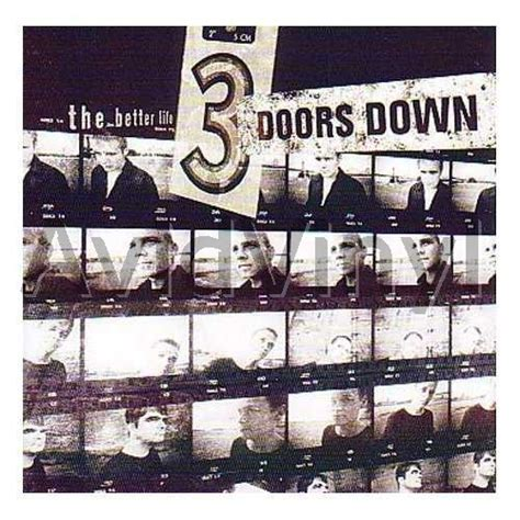 the better life 3 doors down the better life records lps vinyl and cds