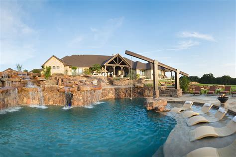 Ranch House Designs signature project ranch playground by custom design pools