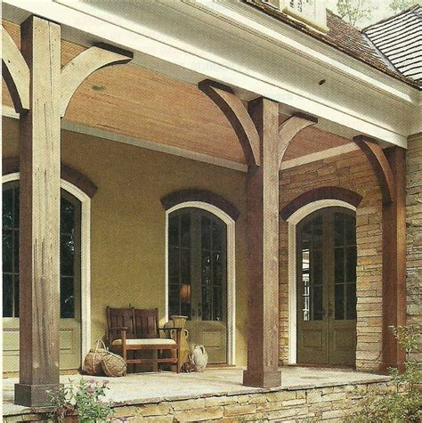 Front Porch Corbels Best 25 Southern Front Porches Ideas On