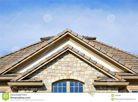 roof peak royalty free stock images image 4040089