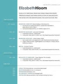 blue side free resume template docx academia career