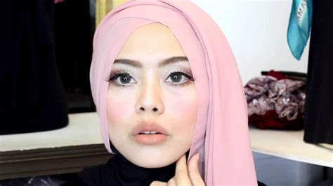 makeup tutorial pesta korea tutorial make up hijab pesta youtube