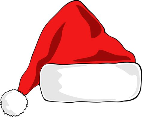 santa hat free vector graphic santa hat hat santa free image on pixabay 1087651