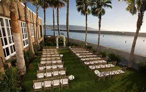 wedding places in los angeles ca hotel portofino redondo venues wedding officiants los angeles