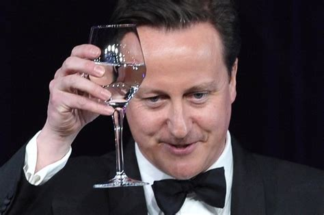 Cameron Back For More Magic by David Cameron S Dinner Guests Are Responsible For A Third