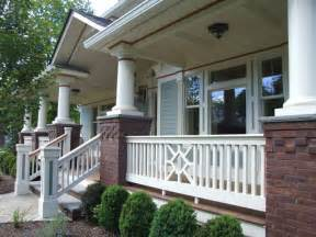 exterior porch railing and trim traditional porch