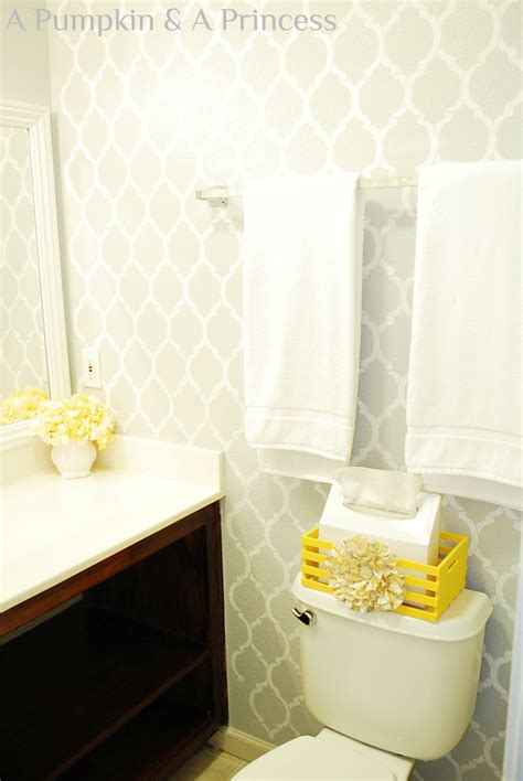 bathroom accents ideas grey and yellow decor archives a pumpkin and a princess