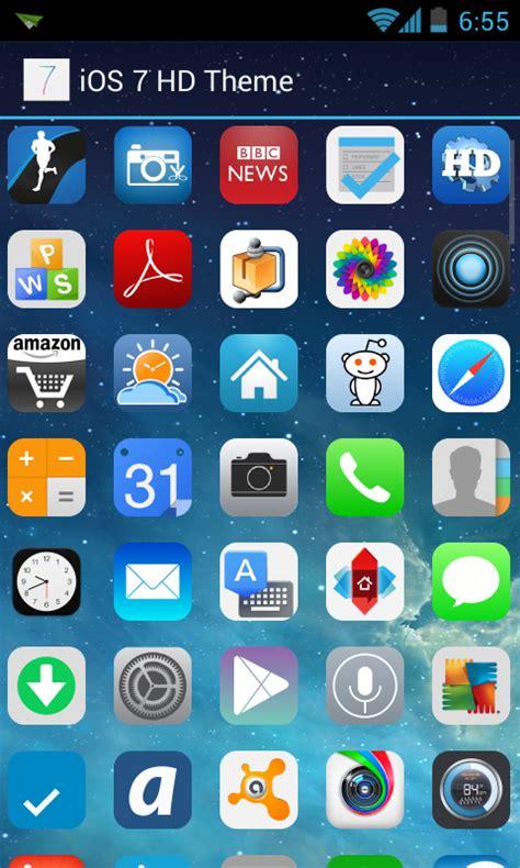 nova launcher ios7 theme apk android လ လင ios 7 hd apex nova theme v1 0 apk