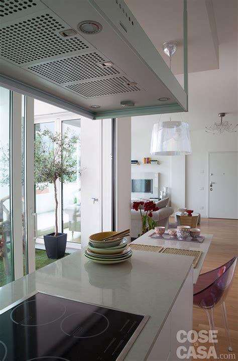 casa cucina open space contemporaneo una casa di 100 mq che sembra