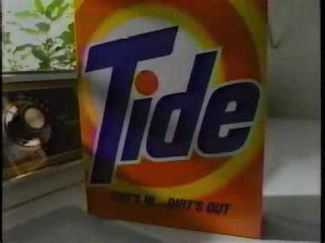 my tide detergent tv commercial youtube tide laundry detergent ad from 1990 youtube