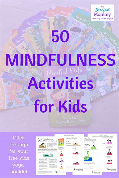 mindfulness  kids  favorite resource  barefoot
