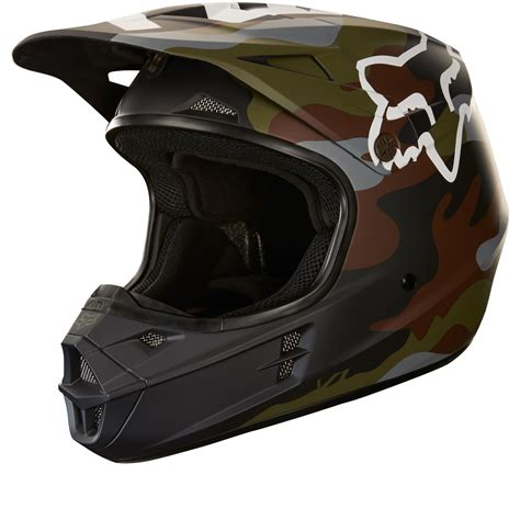 fox helmets motocross fox racing v1 camo motocross helmet helmets ghostbikes com