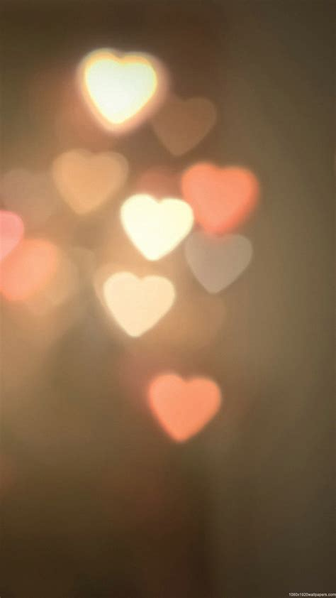 wallpaper for iphone lights 1080x1920 light heart wallpapers hd