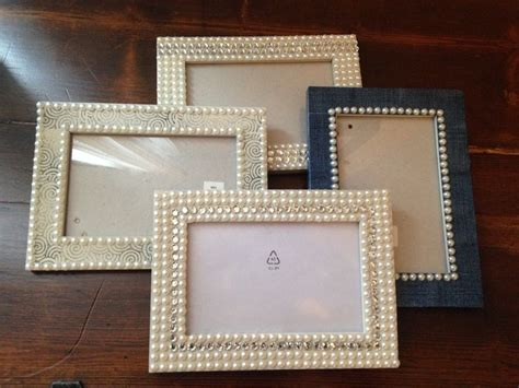 diy 5 ways to decorate boring picture frames youtube decorated picture frames with gems duck tap and sts