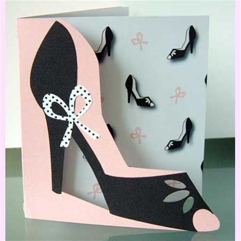 high birthday card template 1000 images about shoe cards on shoe box