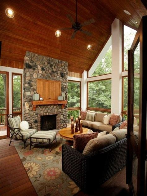 14 best images about sunrooms on fireplace