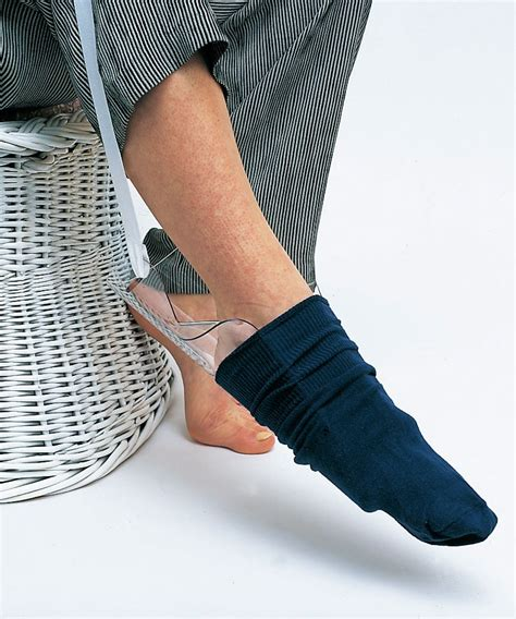 sock aid demonstration molded dressing aid free shipping