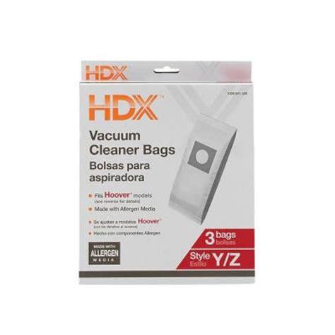 upc 046034900725 hdx vacuum bags hoover y z allergen bag