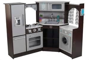 cuisine d angle en bois pour enfant kidkraft 53365 avec