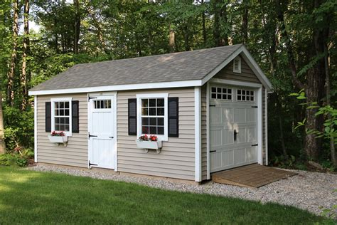 12 X 20 Garage by Styles Classic Series Shed Single Bay Garage