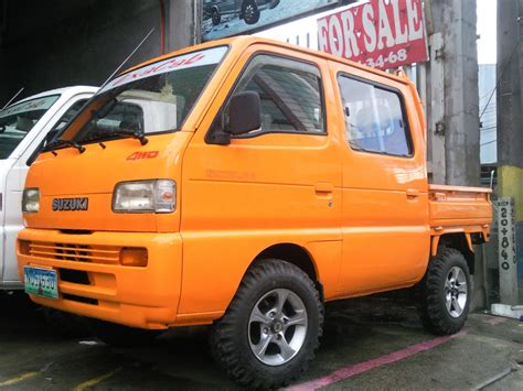 Suzuki Scrum Suzuki Multicab Car Interior Design