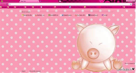 themes google chrome kawaii cute pig theme 4 google chrome by kyoyaanime on deviantart