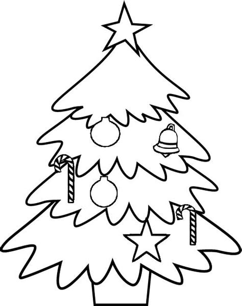 arbol navidad dibujalia dibujos para colorear