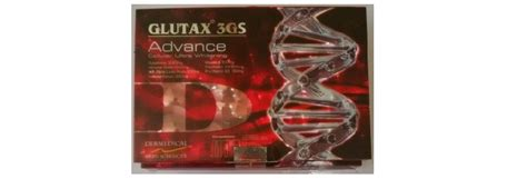 Glutax 3gs Advance glutax 3gs advanced cellular ultra whitening in india