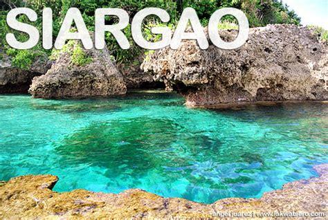 Travel guide siargao island lakwatsero