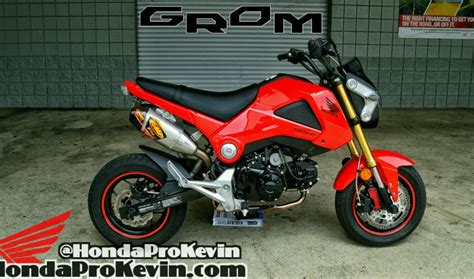 honda grom  owners ride review performance mods