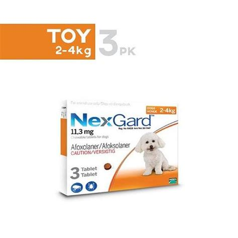 nexgard for dogs 4 10 lbs nexgard chewable tablets for small dogs 4 10 lbs 2 4kg unitedpetworld