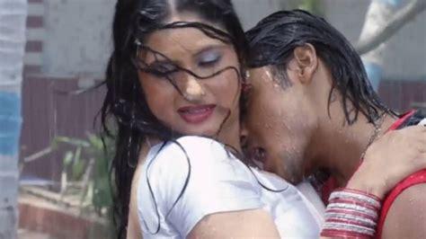 romance in bathroom without dress bhojpuri hot song in rain barsaat mein hathiyaar