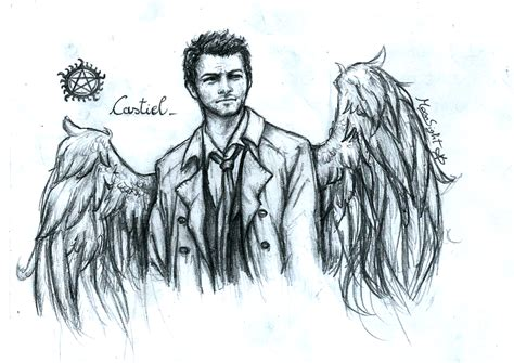 castiel by moonsstorm on deviantart