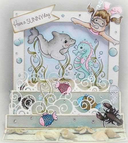 shell shaped pop up card template 20 best images about magnolia cards tilda swimming on