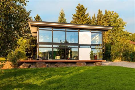 haus house huf haus modum new prefab house concept for intelligent timber modular system
