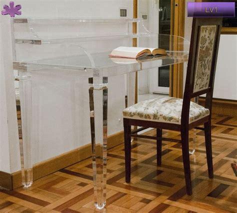 scrivanie in plexiglass 18 best acrylic writing desks scrivanie in plexiglass